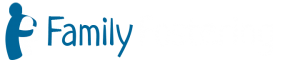 Family Fostering logo linear white