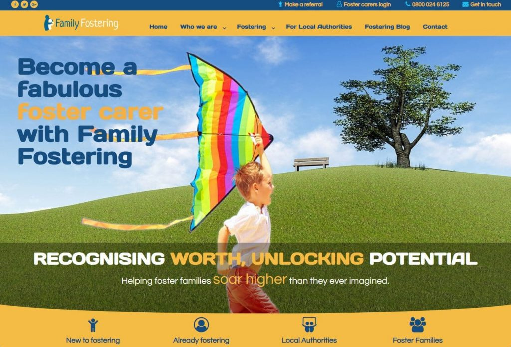 family fostering website